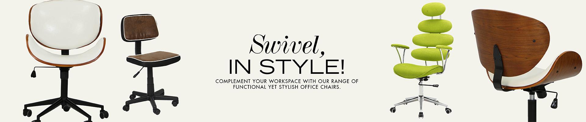 Swivel, In Style