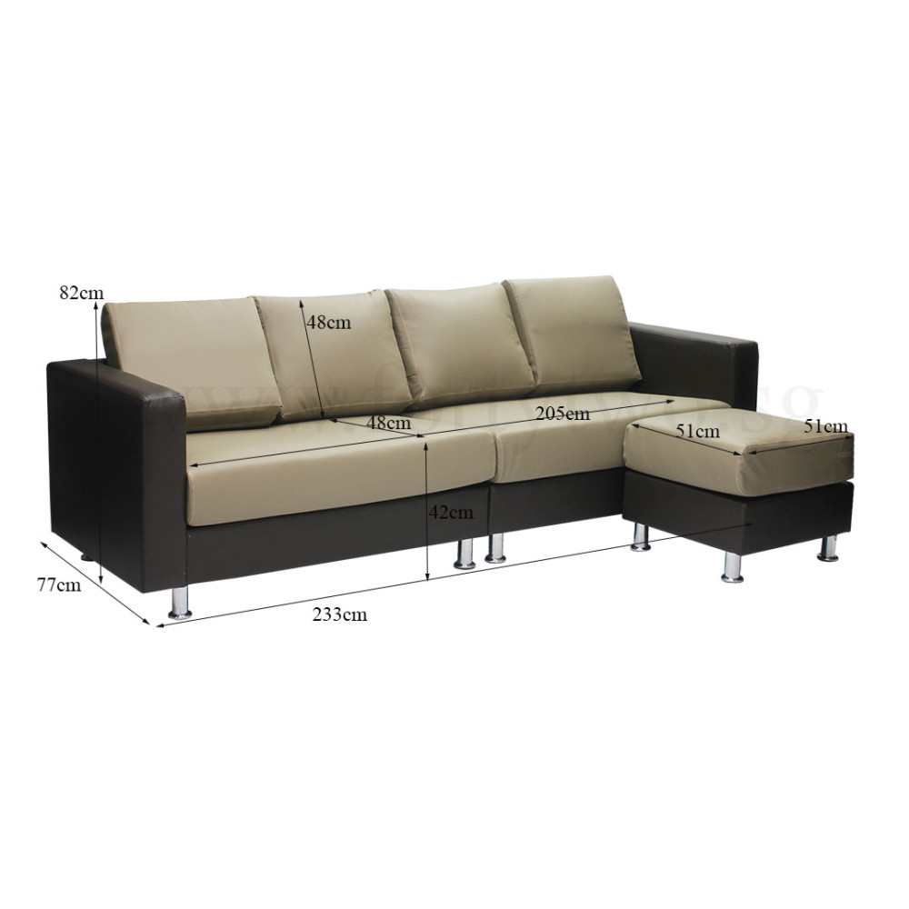 Danon 4 seater sofa furniture home d cor fortytwo for Sofa 8 seater