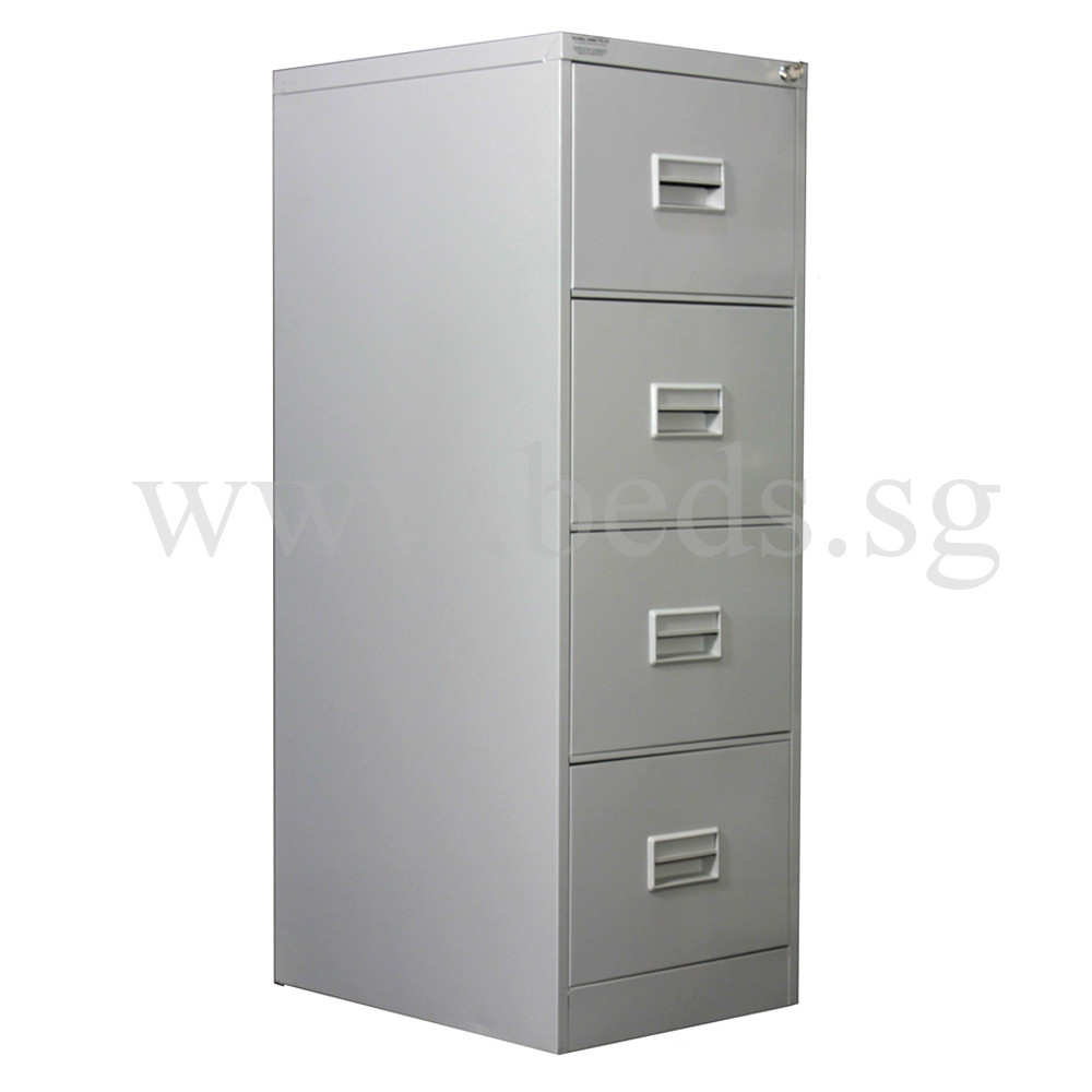 Superior Four Drawer Steel Filing Cabinet