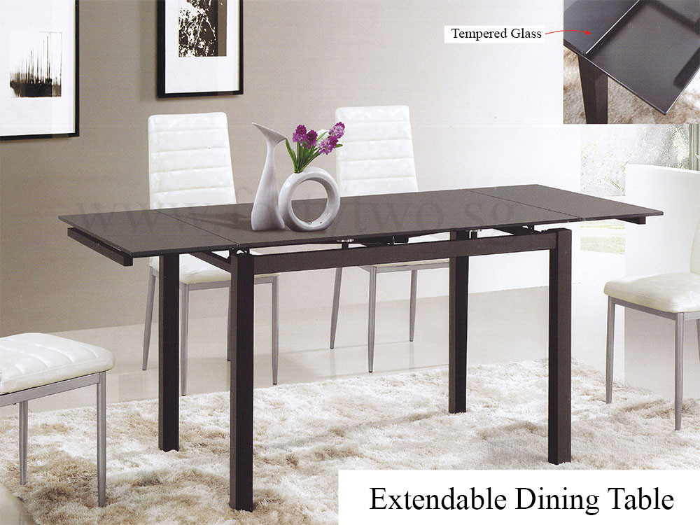 memoir dining table black | furniture & home décor | fortytwo
