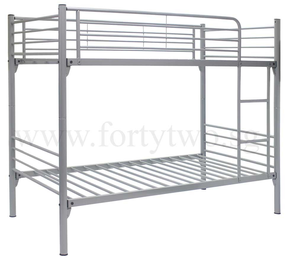 Steel double deck bed -  Mice Double Deck Bed Super Single Size