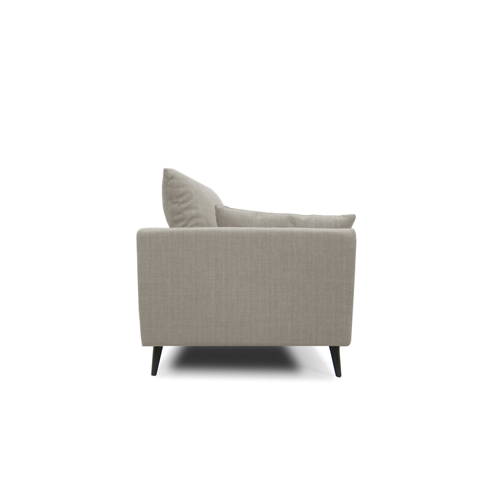 Front Elevation Of Sofa : Benz seater sofa light grey furniture home décor