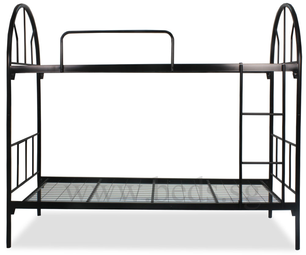 Steel double deck bed - Dublin Metal Single Size Double Deck Bed