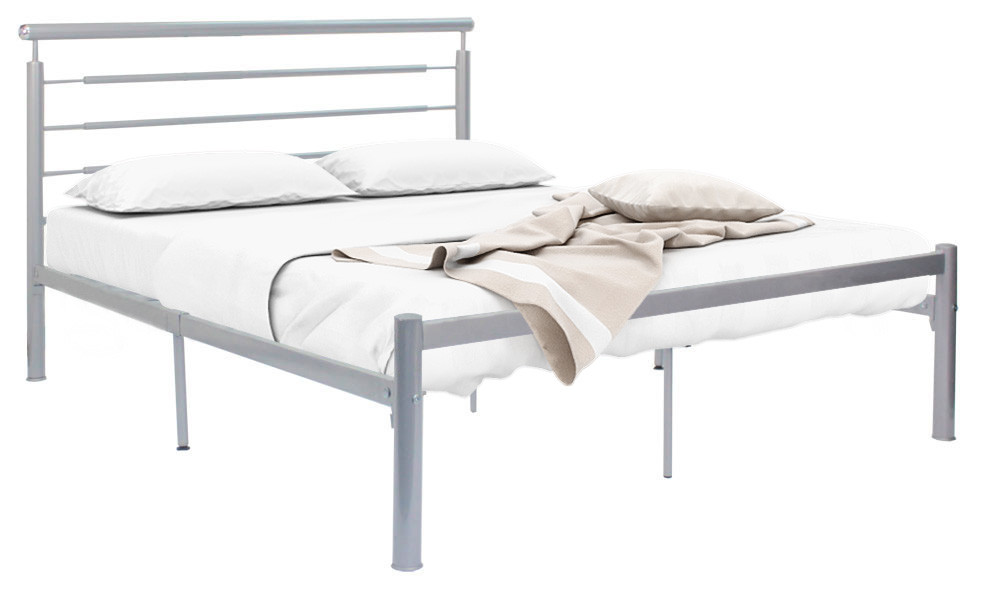 Elle Queen Size Metal Bedframe | Furniture & Home Décor | FortyTwo