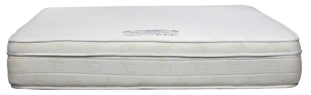 sleepmed indulge eurotop bonnell spring memory foam mattress queen size
