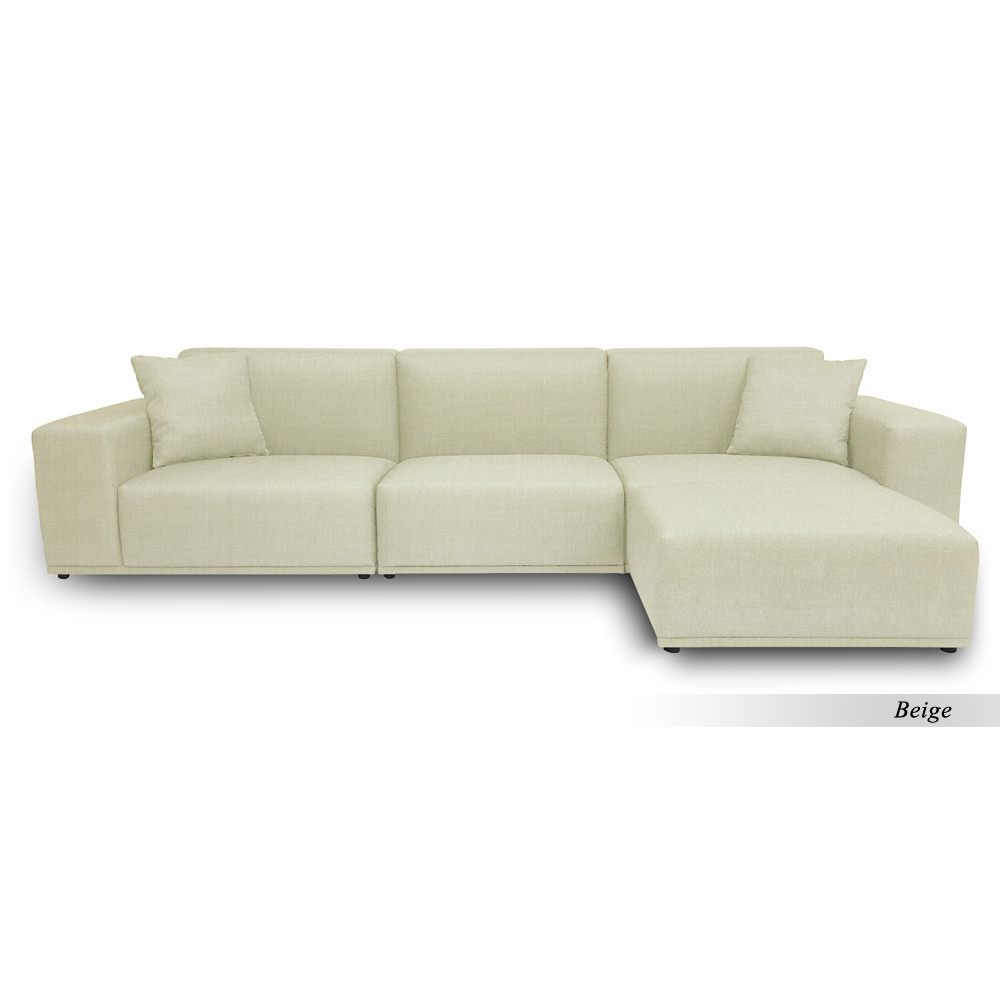 Moota 3 Seater Sofa With Ottoman Furniture Home Decor Fortytwo