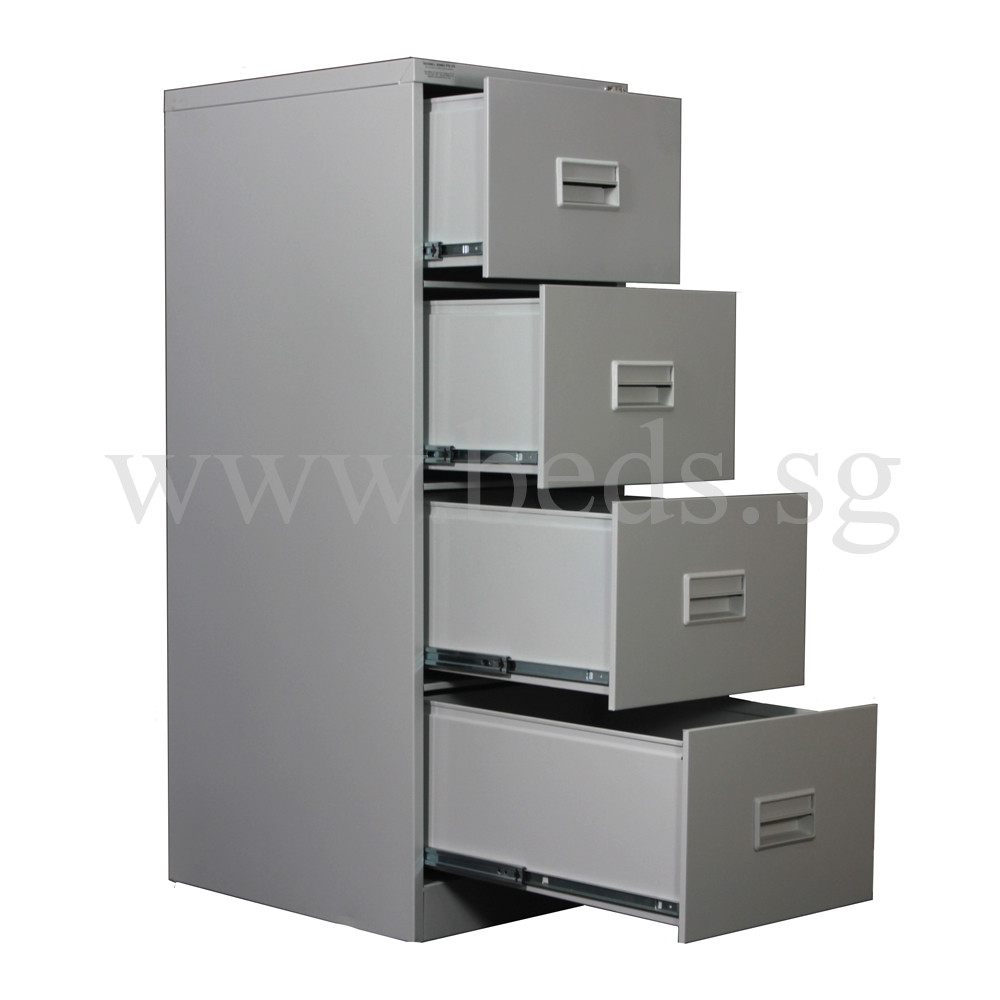 four drawer steel filing cabinet | furniture & home décor | fortytwo 1 drawer file cabinet