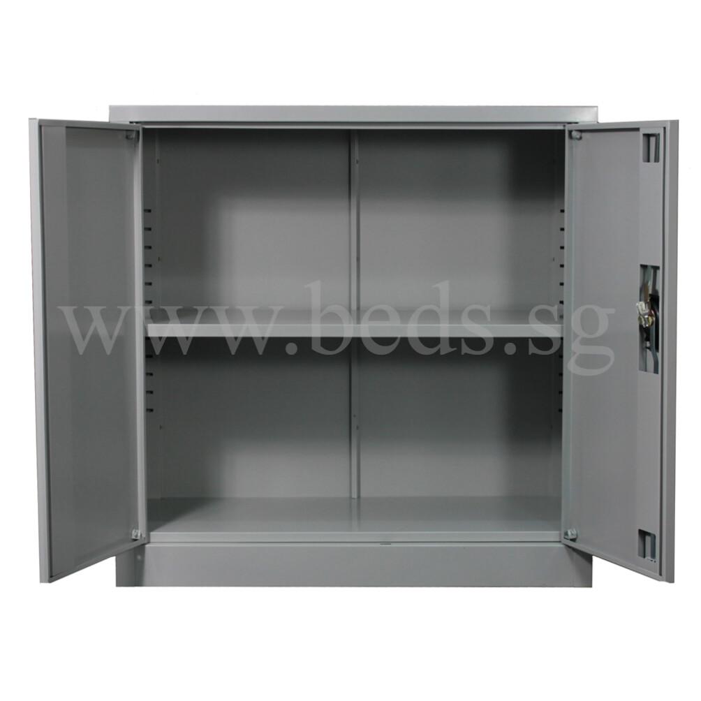 Low Steel Filing Cabinet Swinging Door Furniture