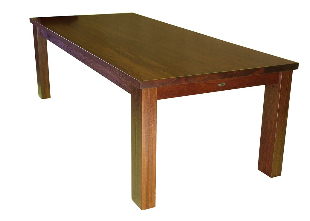 Solid jarrah hardwood dining table dining tables for M s dining room tables