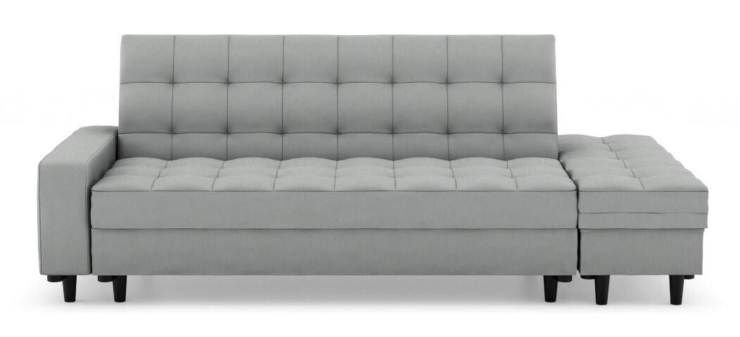Thora Multi Storage Sofa Bed Fabric Grey