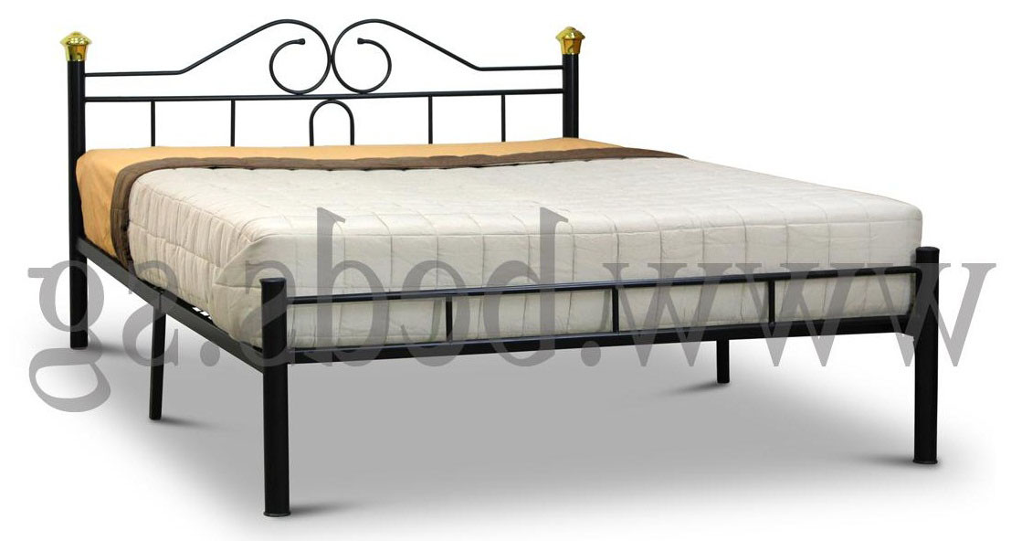 California Queen Size Metal Bedframe