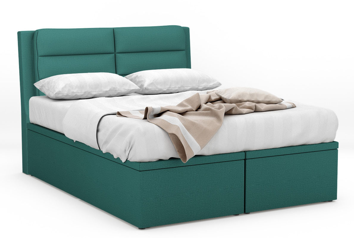 Zersing Fabric Storage Bed Frame | Furniture & Home Décor | FortyTwo