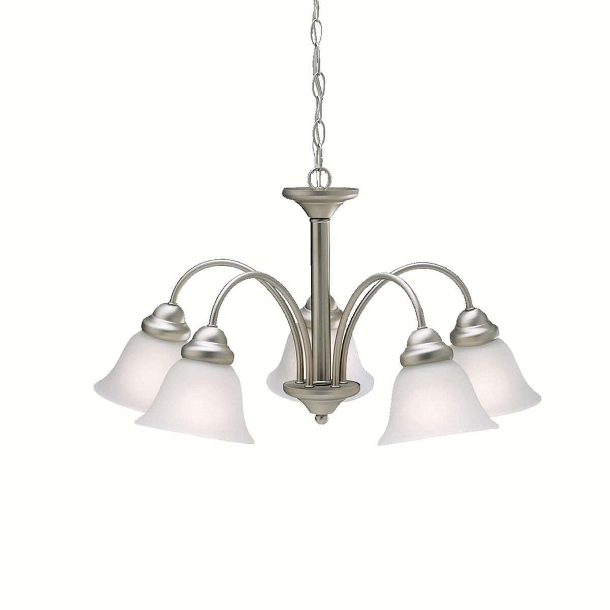 Kichler Lighting Wynberg 5 Light Chandelier In Brushed Nickel 2093ni