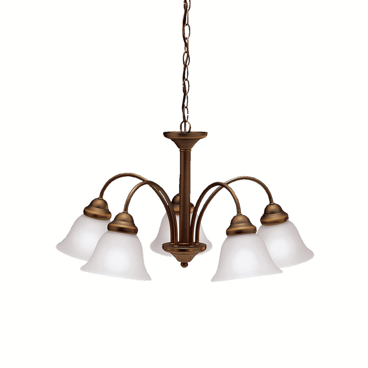 Kichler Lighting: Kichler Lighting Wynberg 5 Light Chandelier In Olde Bronze