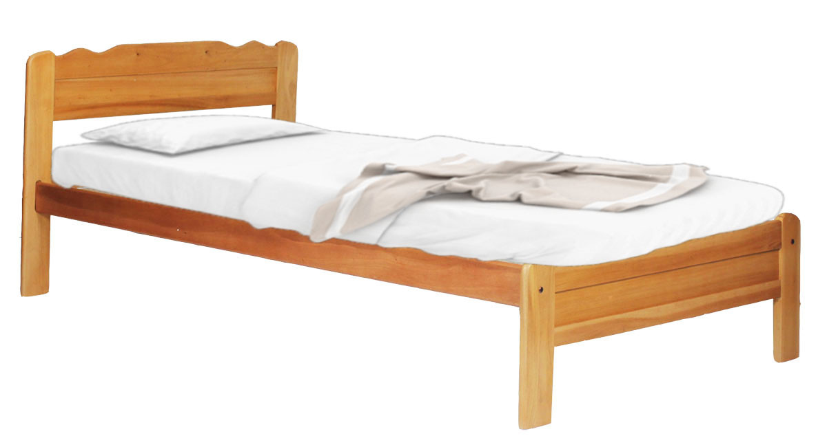 meet 2092b e1250 Franzer Wooden Bed Frame Single Size