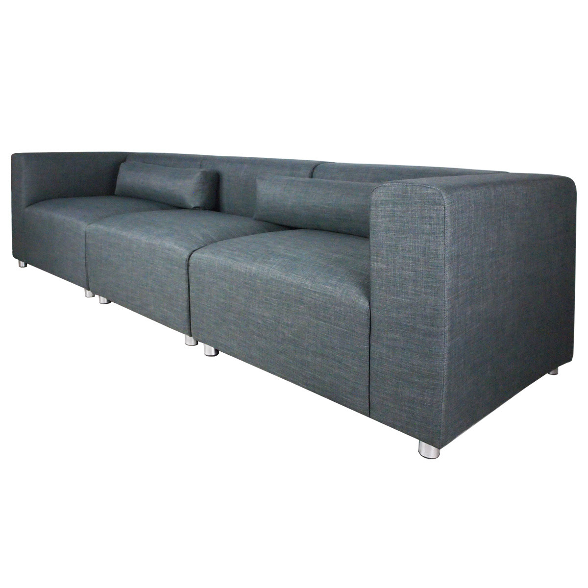 Sectional Sofa Sale Houston: Houston 3 Seater Sofa Grey (3 Piece)