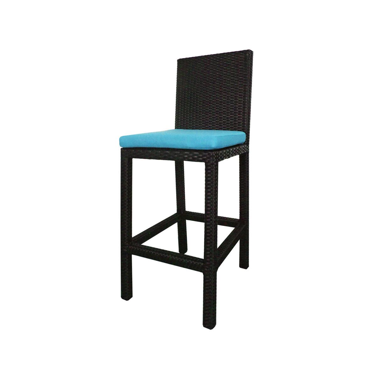 Midas 2 Chair Bar Set Blue Cushion Furniture Home D Cor Fortytwo