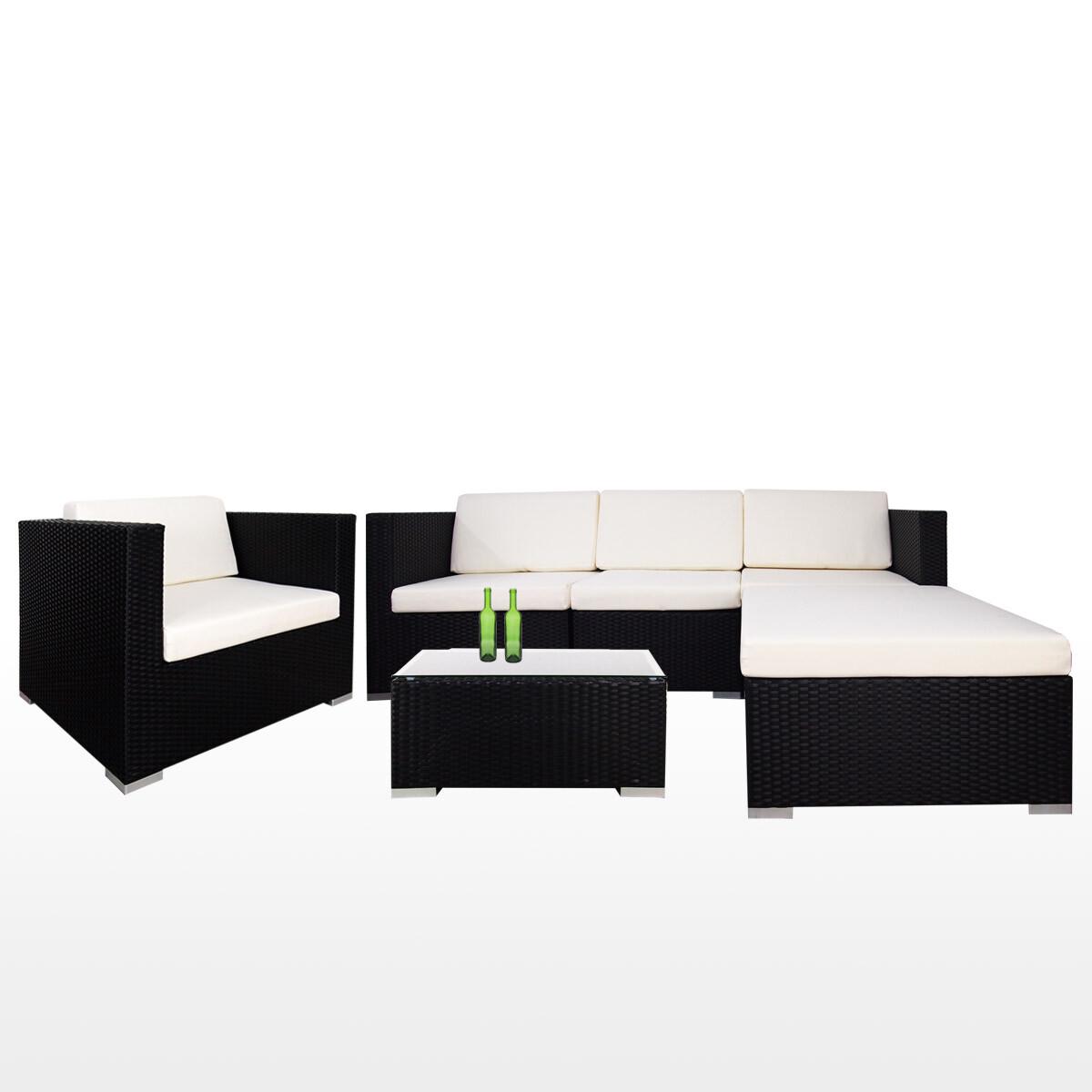 Summer outdoor modular sofa set ii white cushions 2 year for Sofa modular exterior