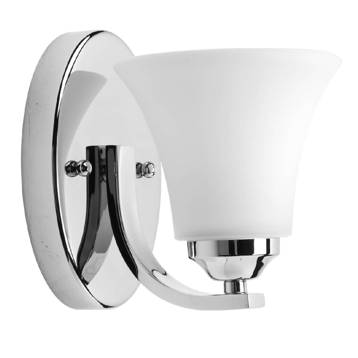Progress Lighting Adorn 1 Light Bath Vanity Light In Chrome P2008 15 Furniture Home D Cor