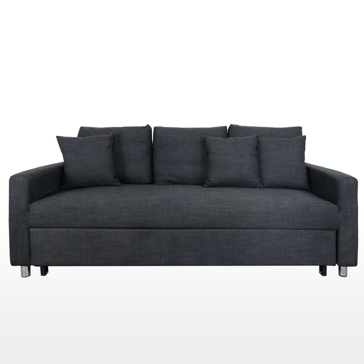sale retailer a95d0 d3994 Vernon Sofa Bed, Grey (3 Seater)