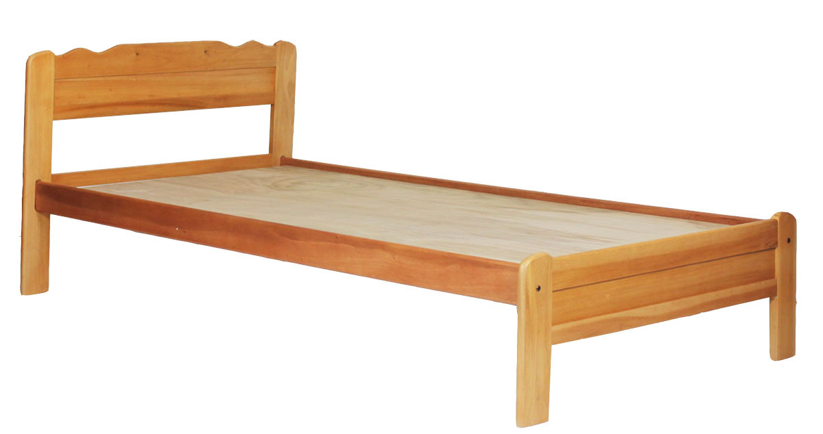 Franzer Wooden Bed Frame Single Size | Furniture & Home Décor | FortyTwo