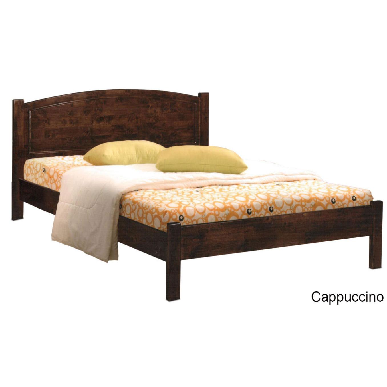 Wooden Bed: Furniture & Home Décor