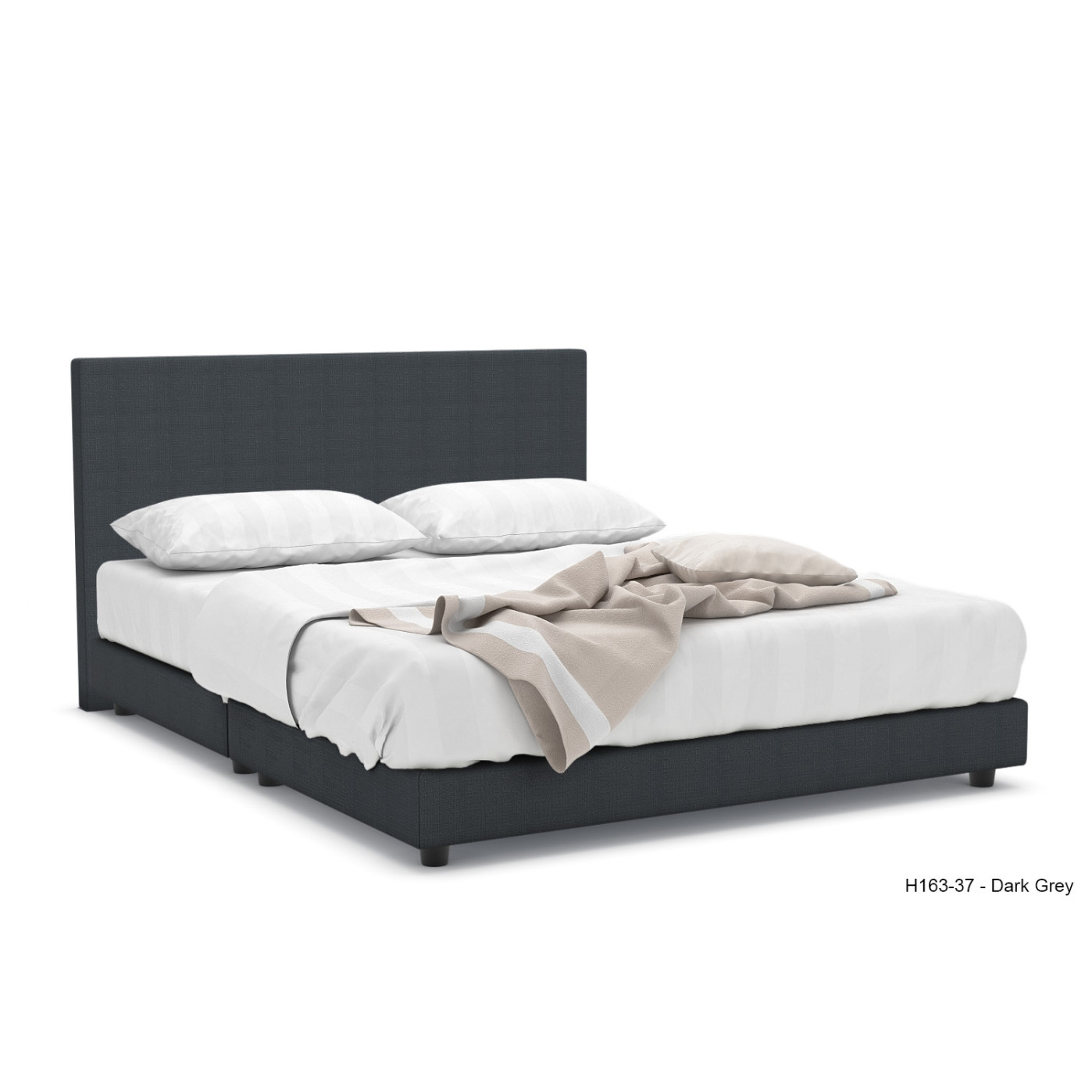 Hester Fabric Bed Frame | Furniture & Home Décor | FortyTwo