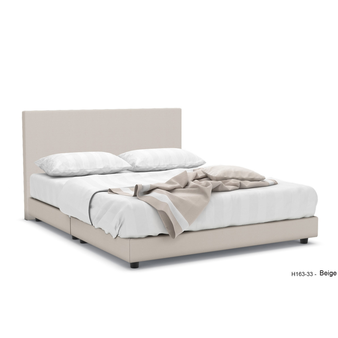 688699457ff10 Hester Fabric Bed Frame