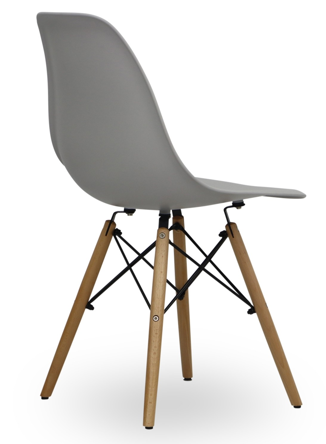 Eames light grey replica designer chair chairs seating for Imitation designer chairs