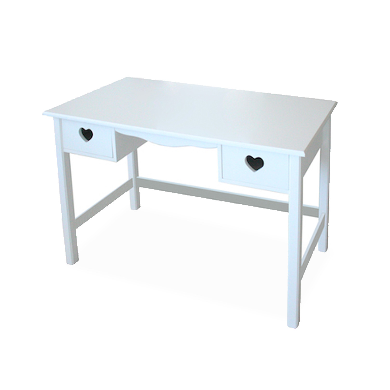 Treehouse Kids Desk Heart With 2 Drawers