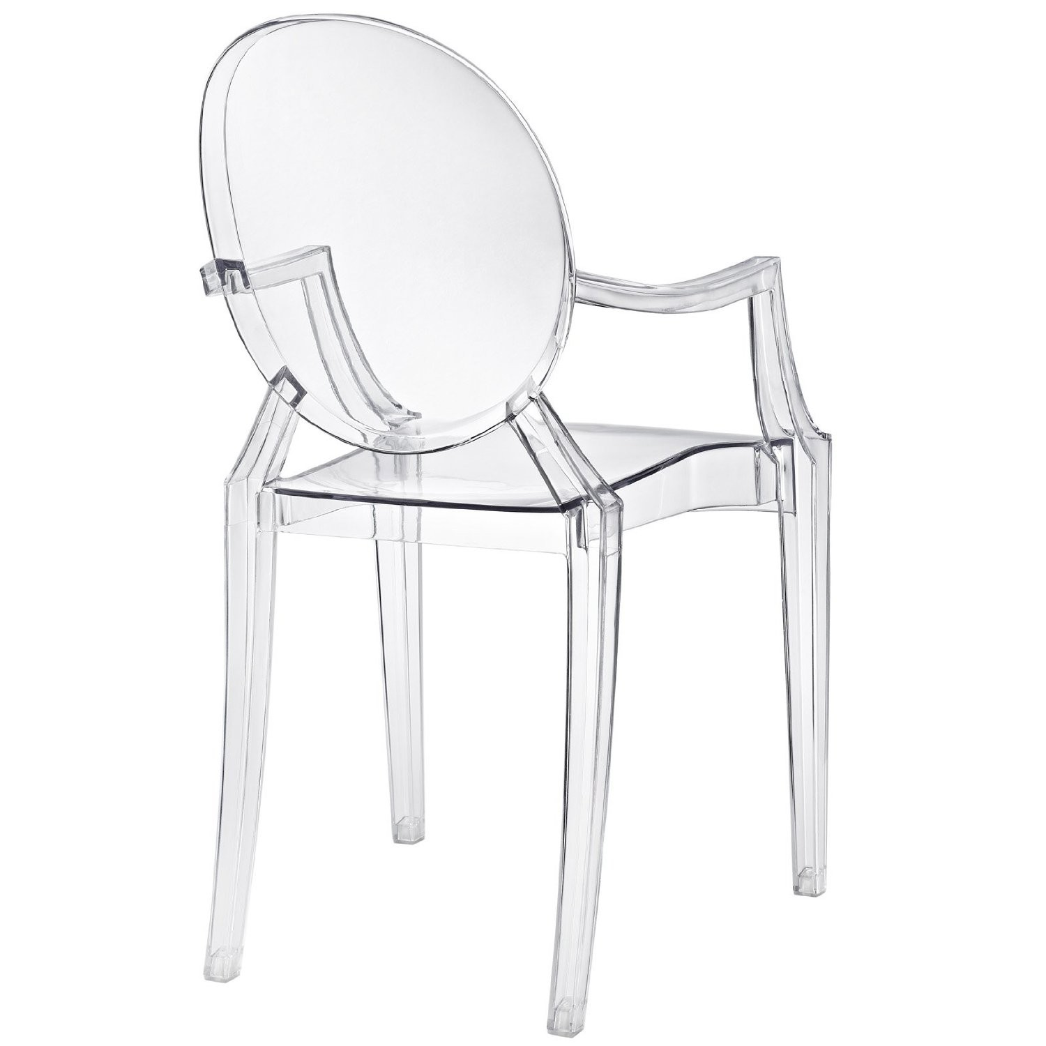 Incroyable Designer Replica Louis Ghost Arm Chair Clear. Regular Price: S$229.00