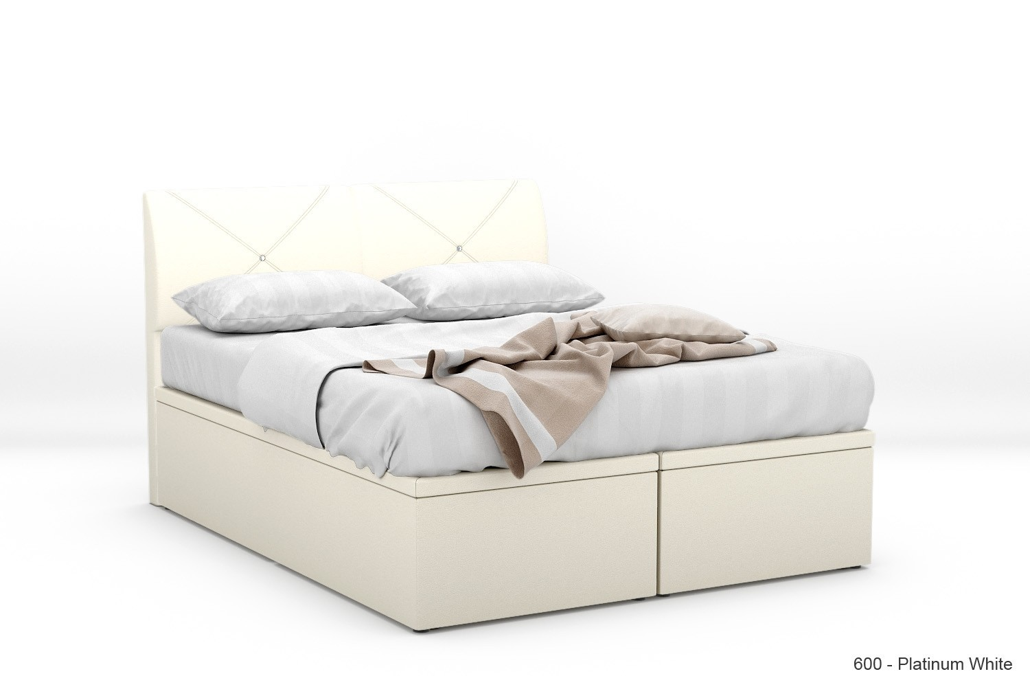 1 Stock Offer Lexitrax Faux Leather Storage Bed Frame Super Single