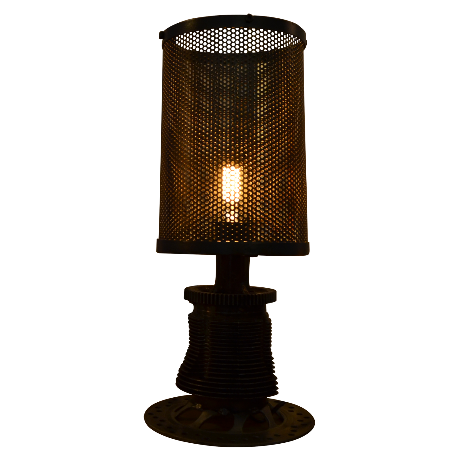 Table lamp industrial furniture home d cor fortytwo for Industrial design table lamps