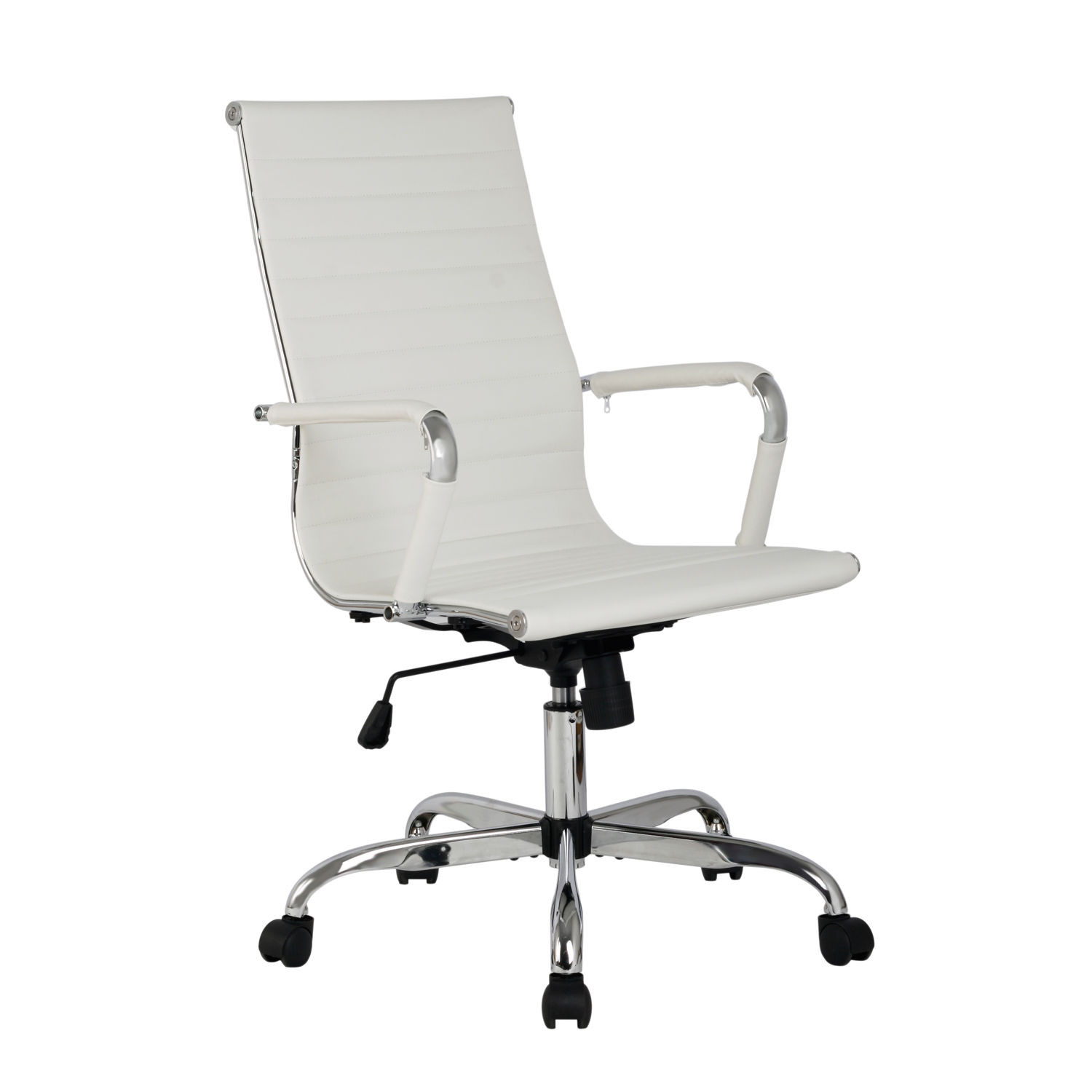 Eames Office Chair Highback Replica White