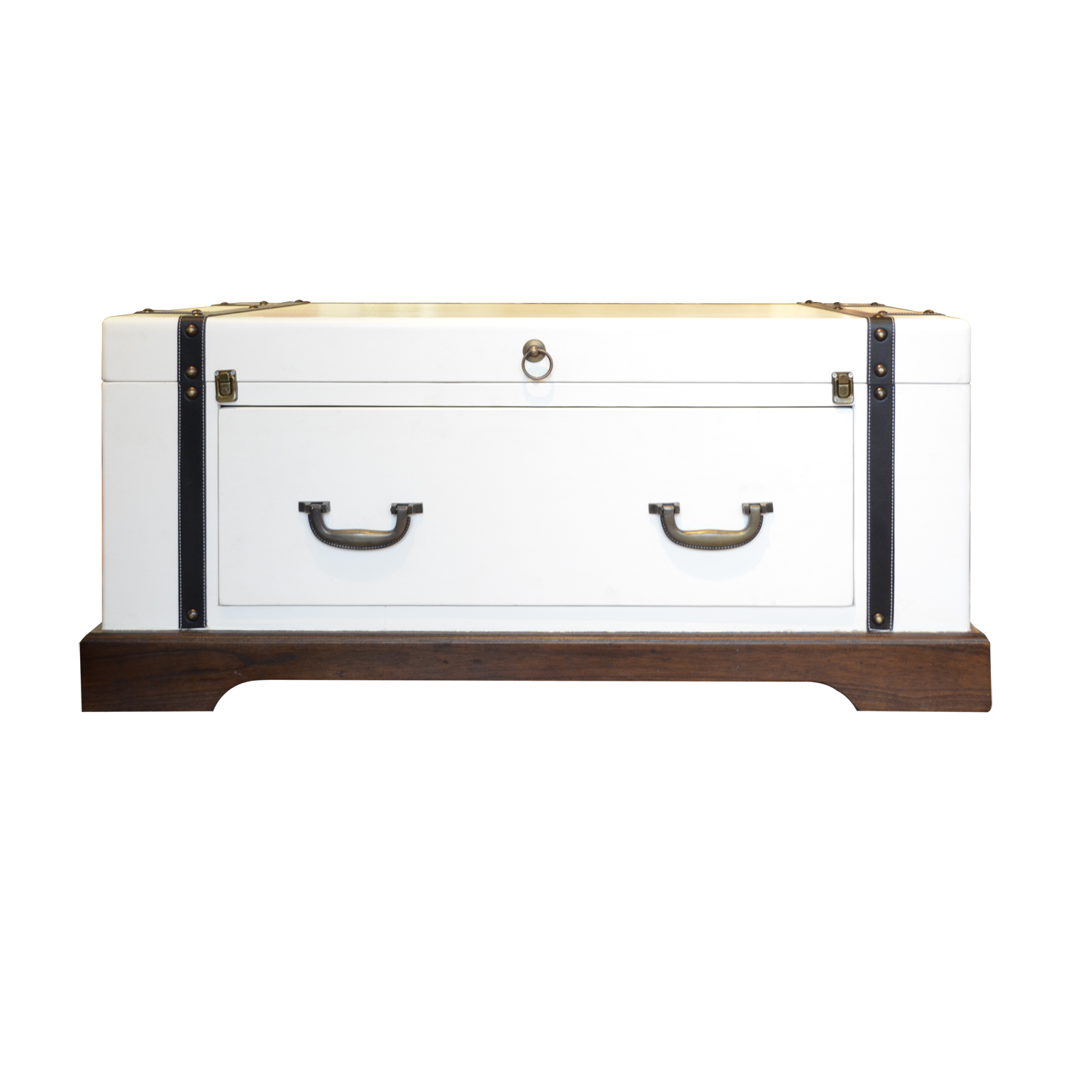 Pure White Suitcase Coffee Table