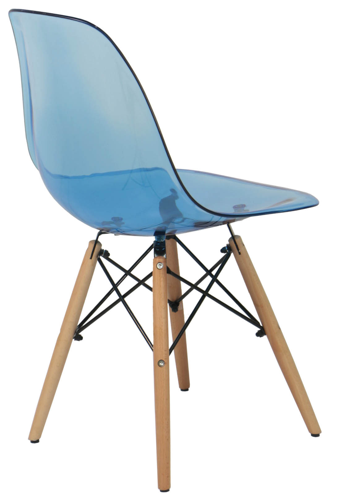 Eames Clear Blue Replica Designer Chair Dining Chairs Dining Room Furnitu