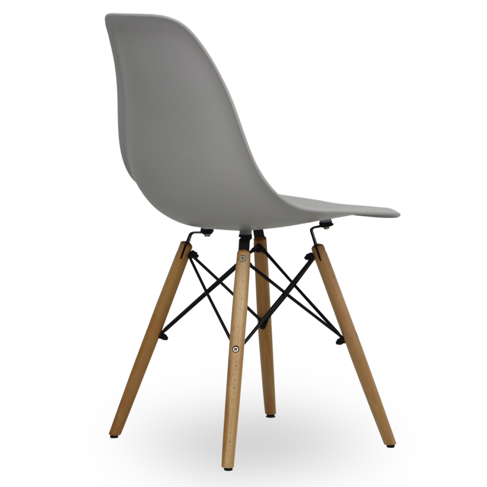 Eames light grey replica designer chair living room for Replica designer furniture