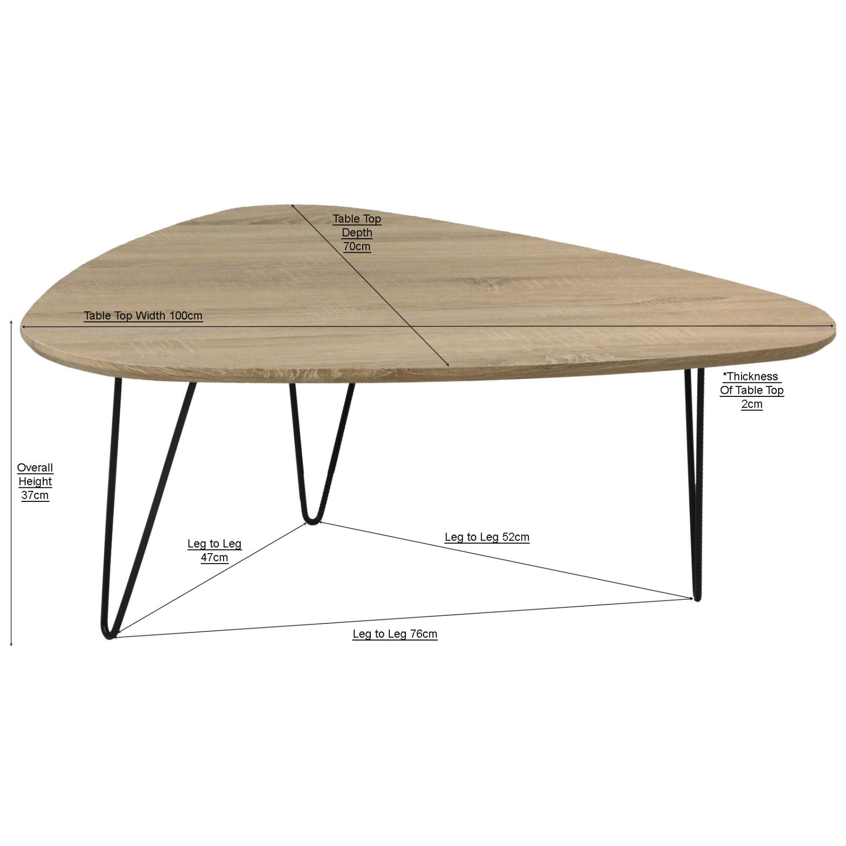 trico coffee table | furniture & home décor | fortytwo