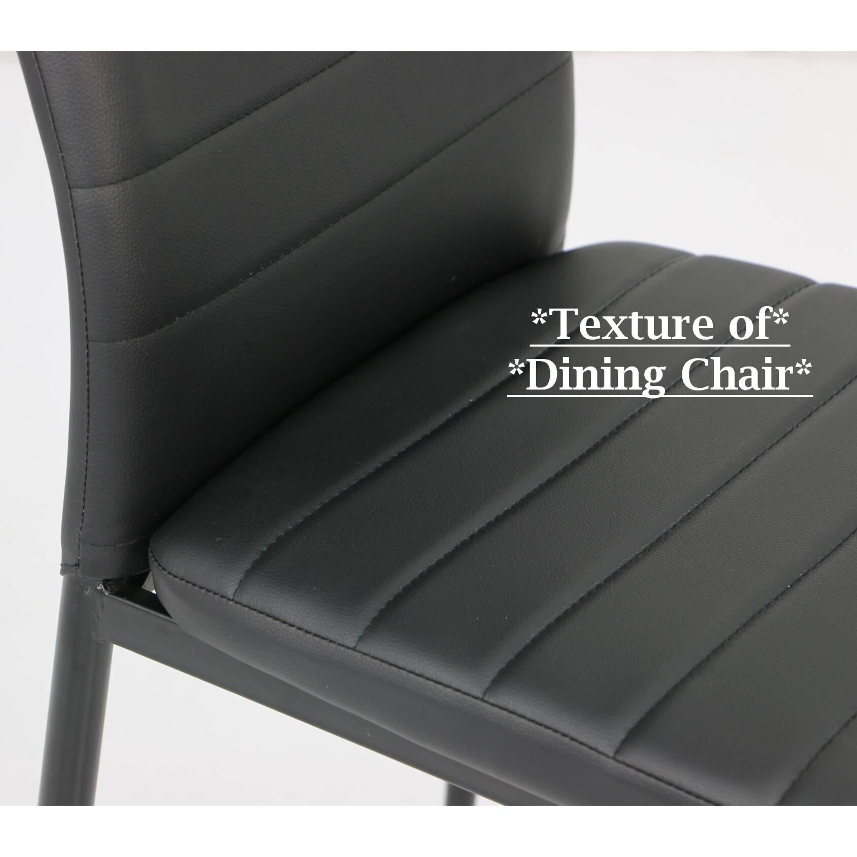 Quinn Dining Chair Black