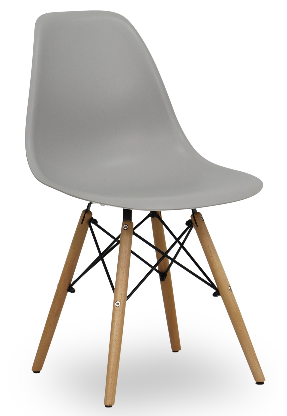 Eames light grey replica designer chair dining room for Replica designer furniture usa