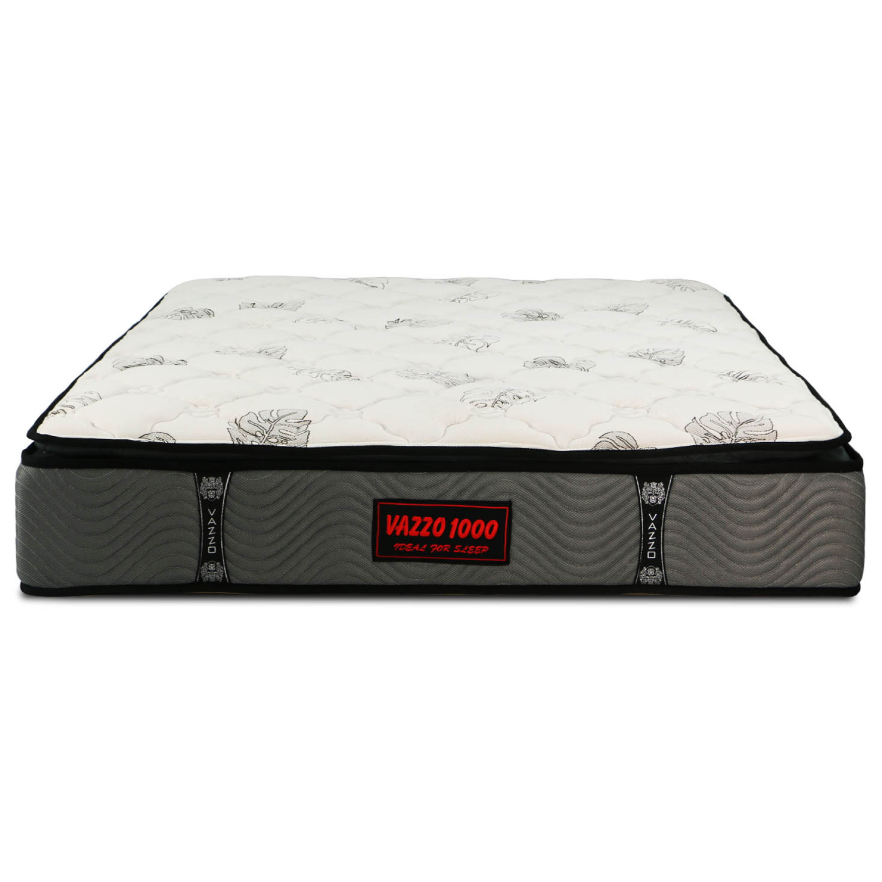 overstock today free product plush mattress quilted foam top size nuform inch pillow home shipping queen garden topper
