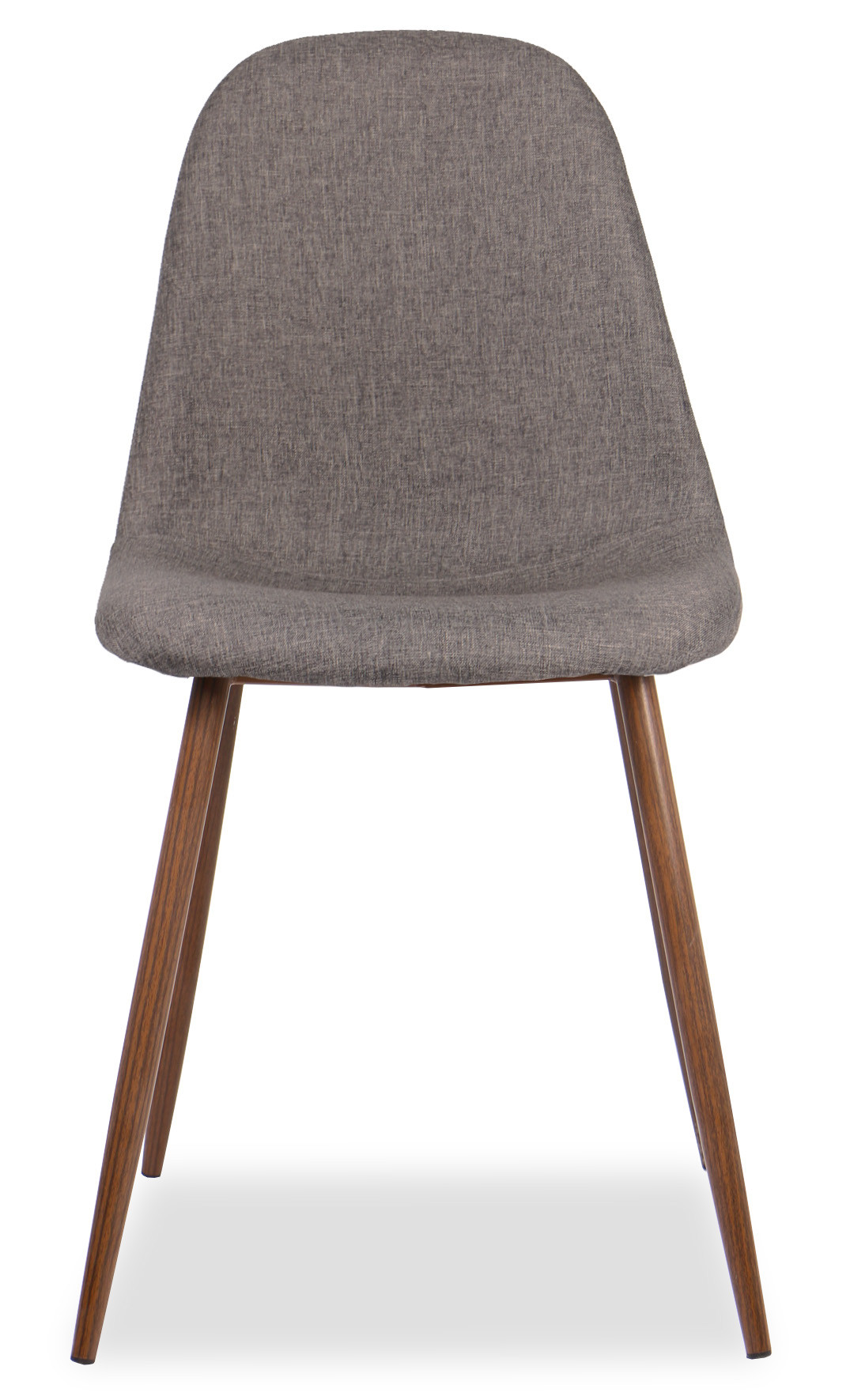 Quinny Designer Fabric Chair (Brown)