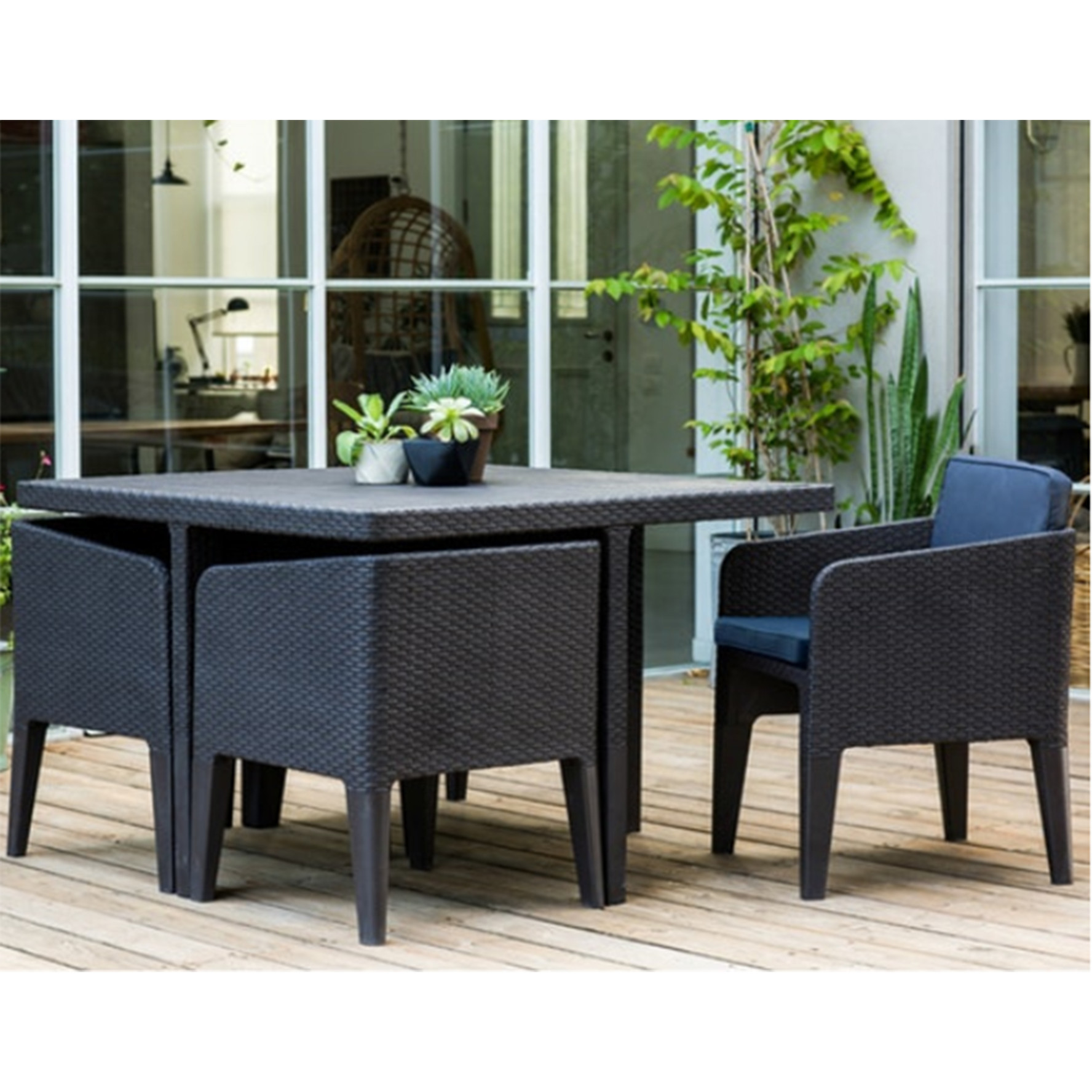 Columbia Outdoor Dining 5 Pieces Set