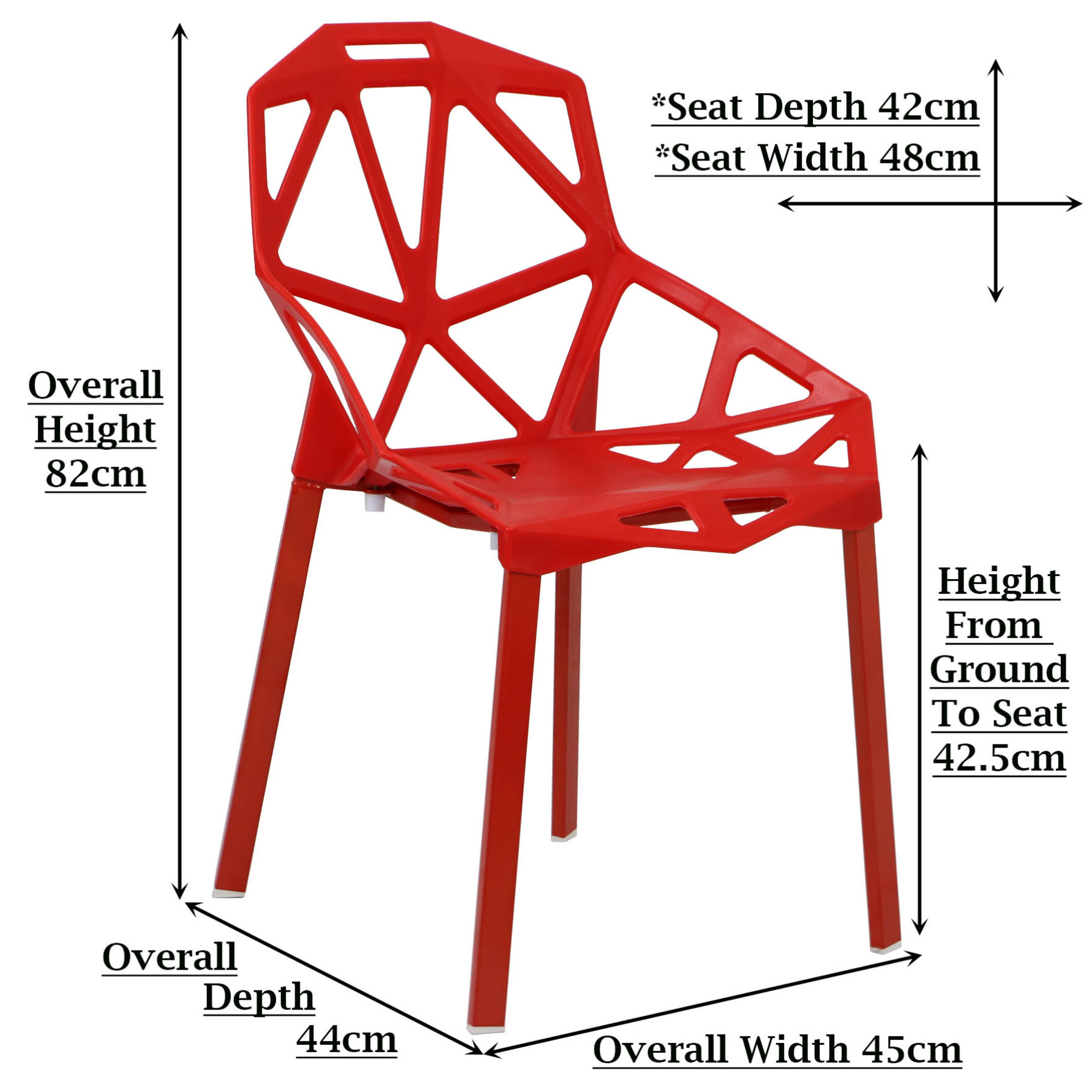 Gendna Chair Red
