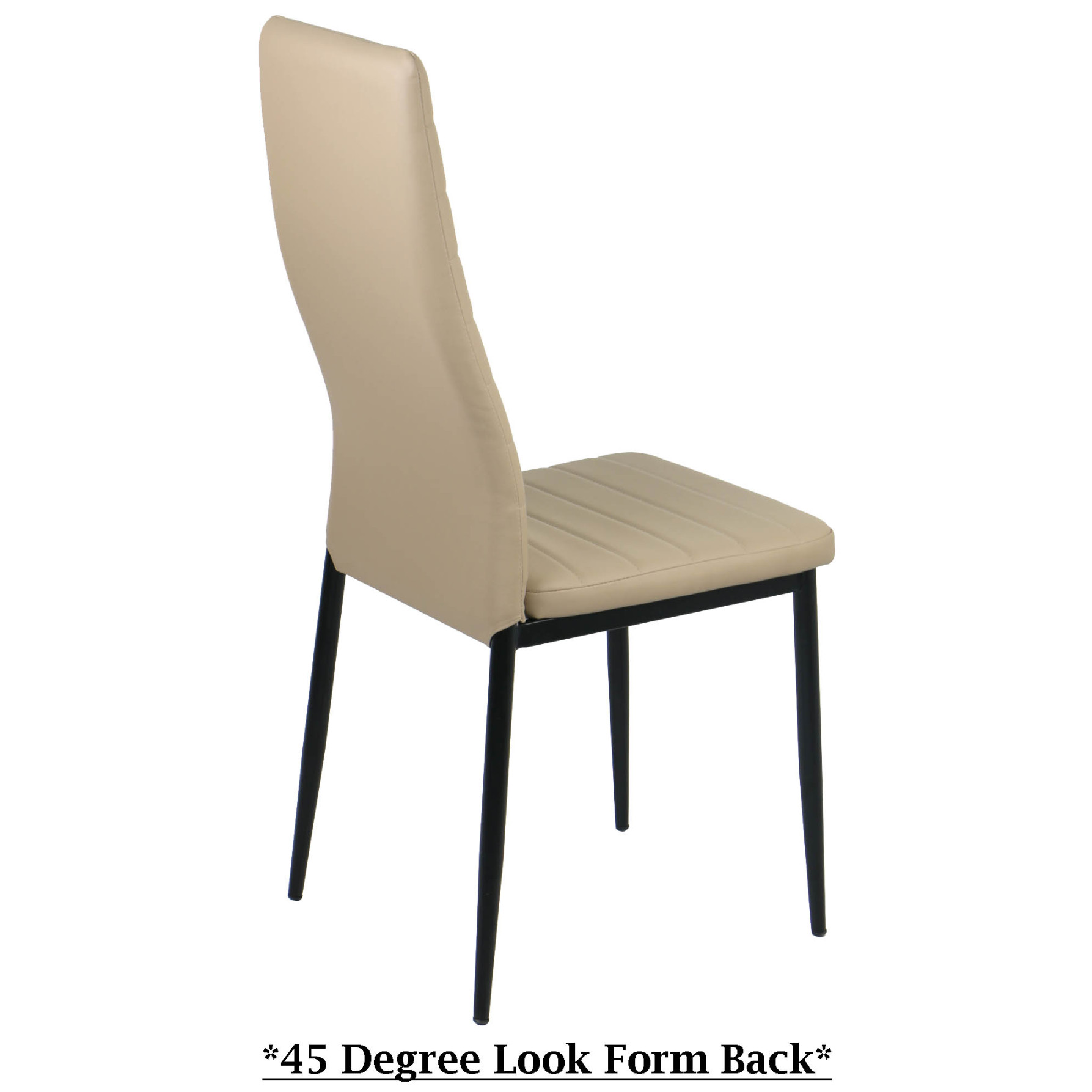 Champagne Dining Room Furniture: Quinn Dining Chair Champagne