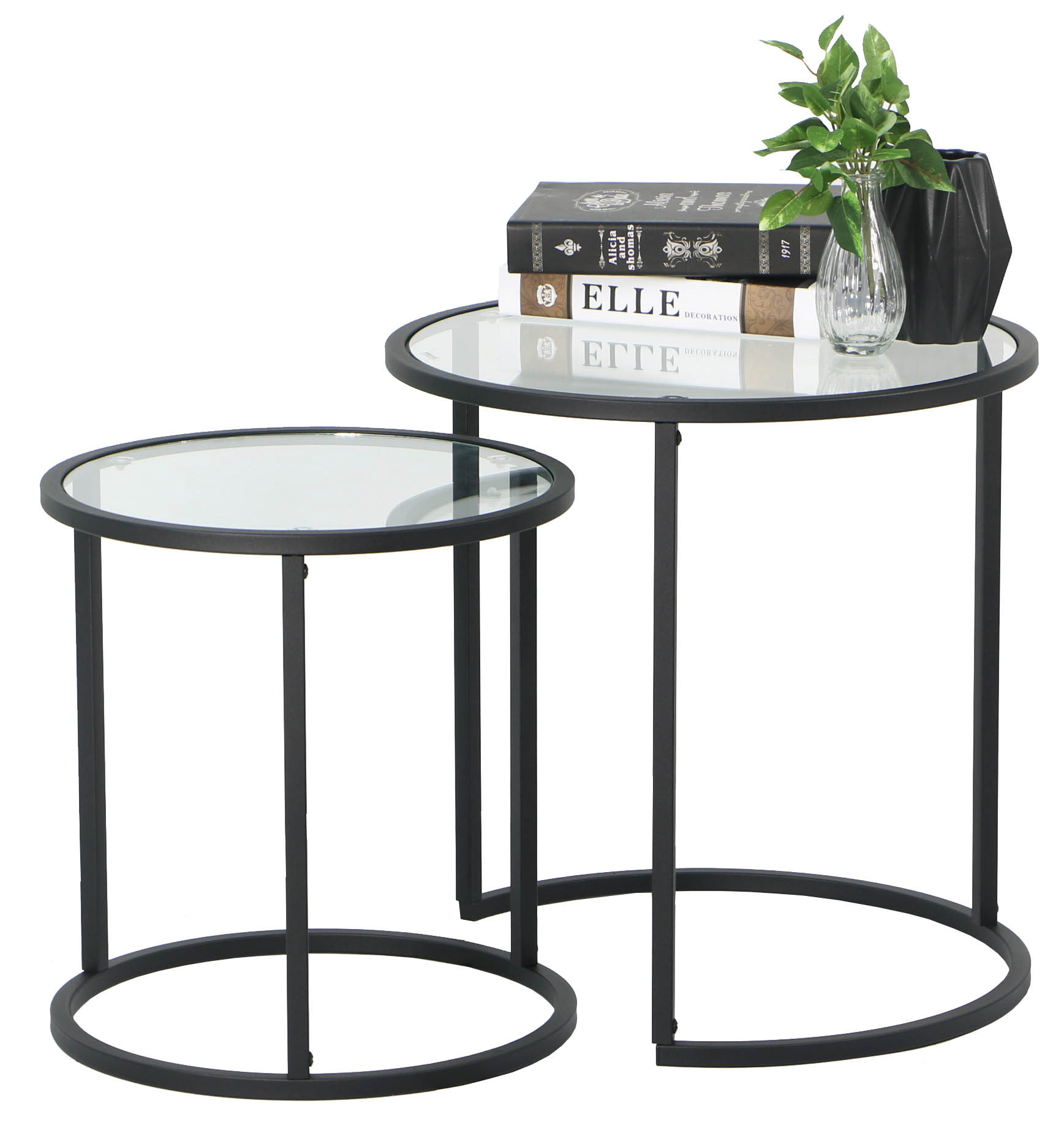 nesting furniture. Careri 2pcs Nesting Table Set Furniture