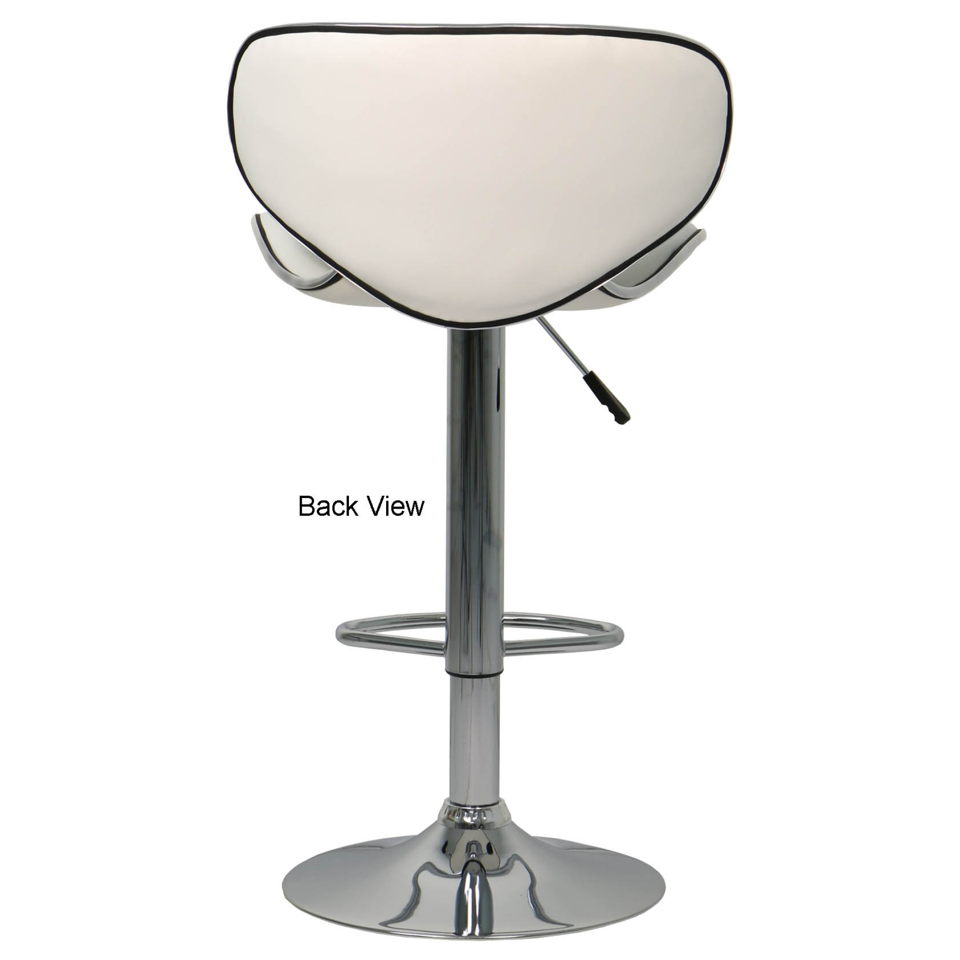 Assento Bar Stool White Furniture Home Décor Fortytwo