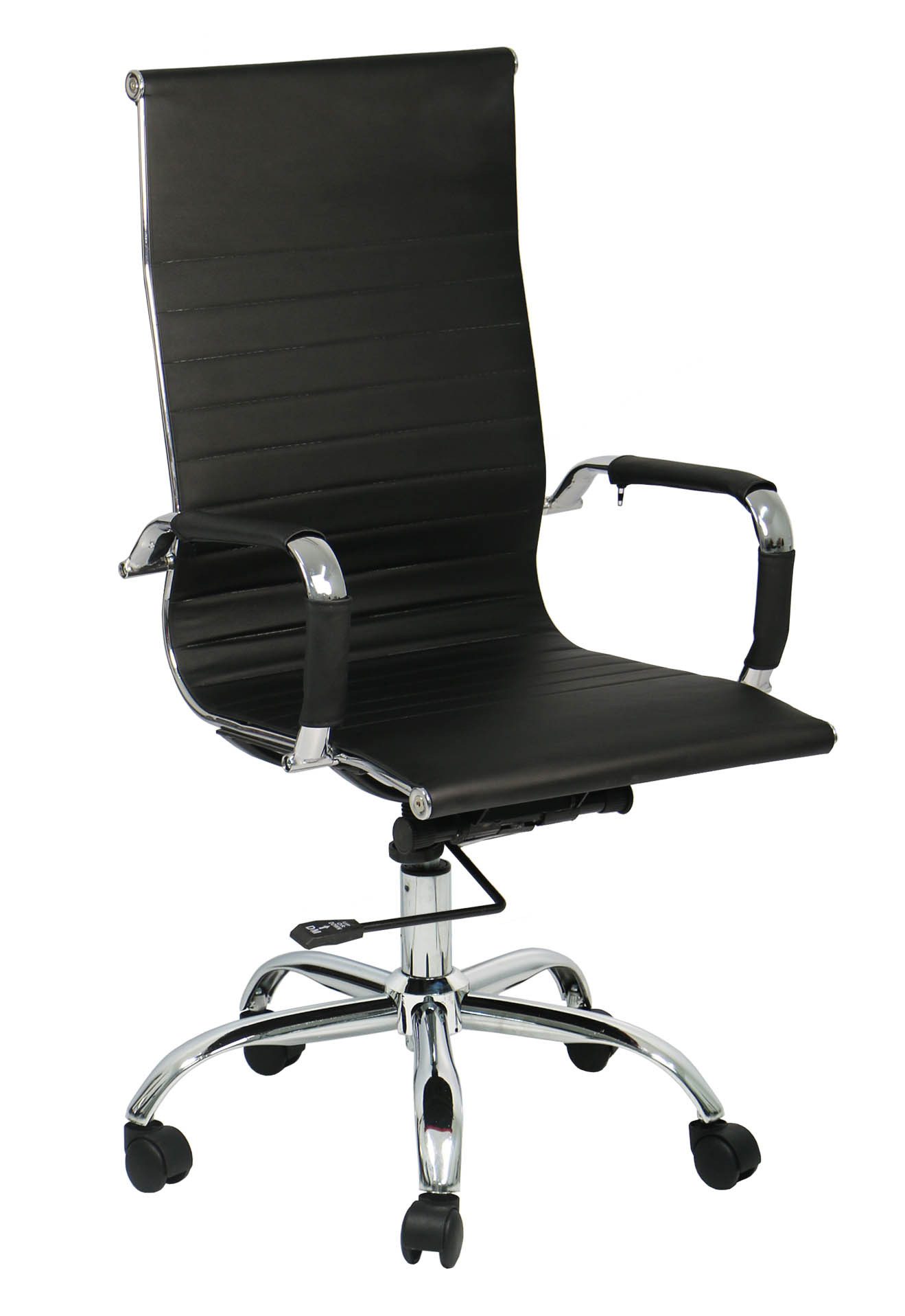 Eames office chair highback replica black furniture for Eames replica