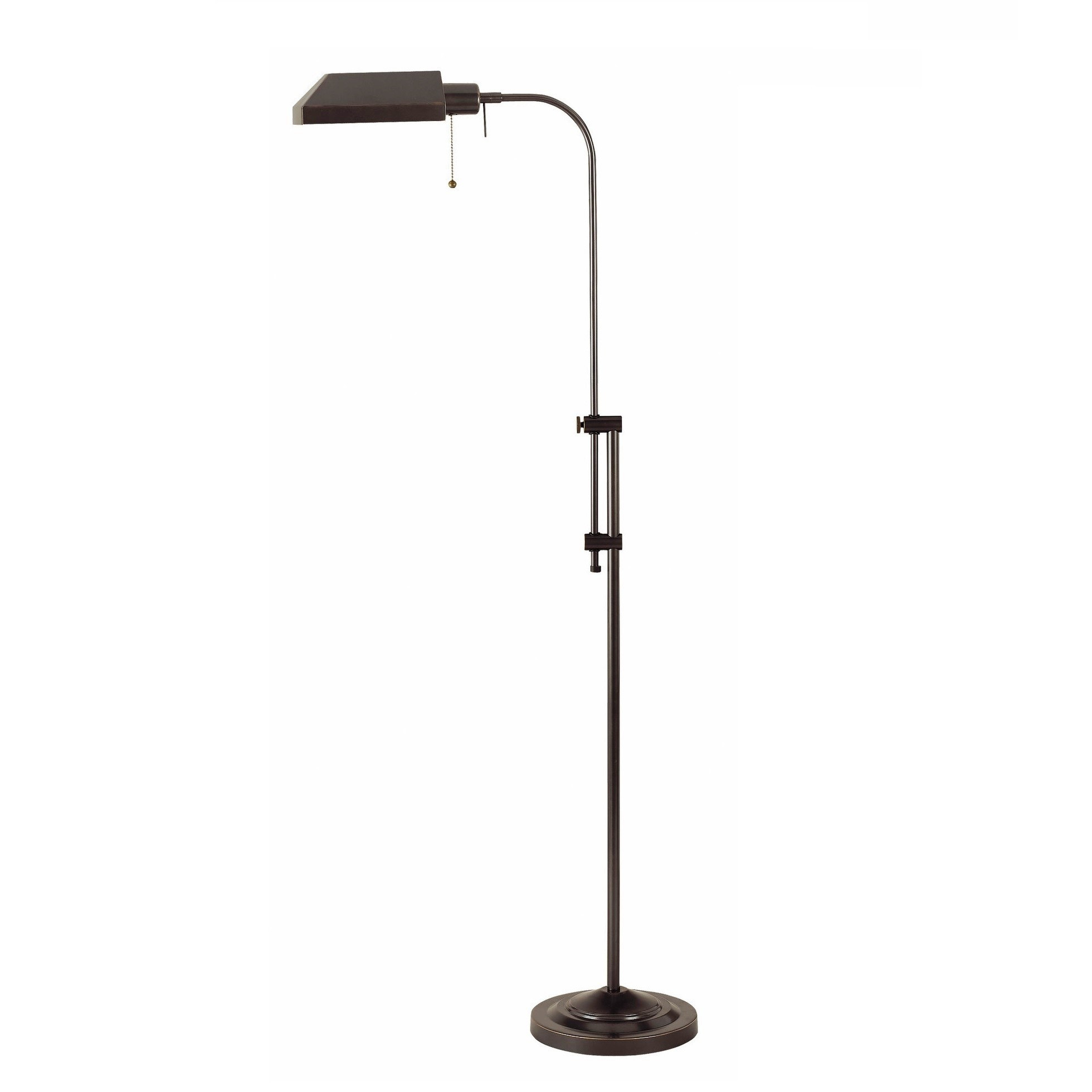 Cal Lighting Pharmacy Floor Lamp In Dark Bronze Bo 117fl Db