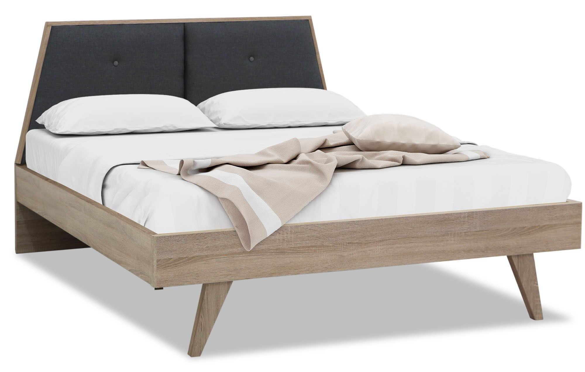 Mikala King Size Bed Furniture Home Decor Fortytwo